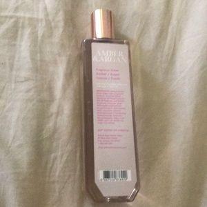 Amber & argan fragrance mist bath& Body Works